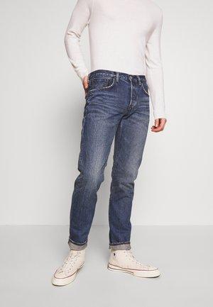 REGULAR TAPERED - Straight leg jeans - blue denim