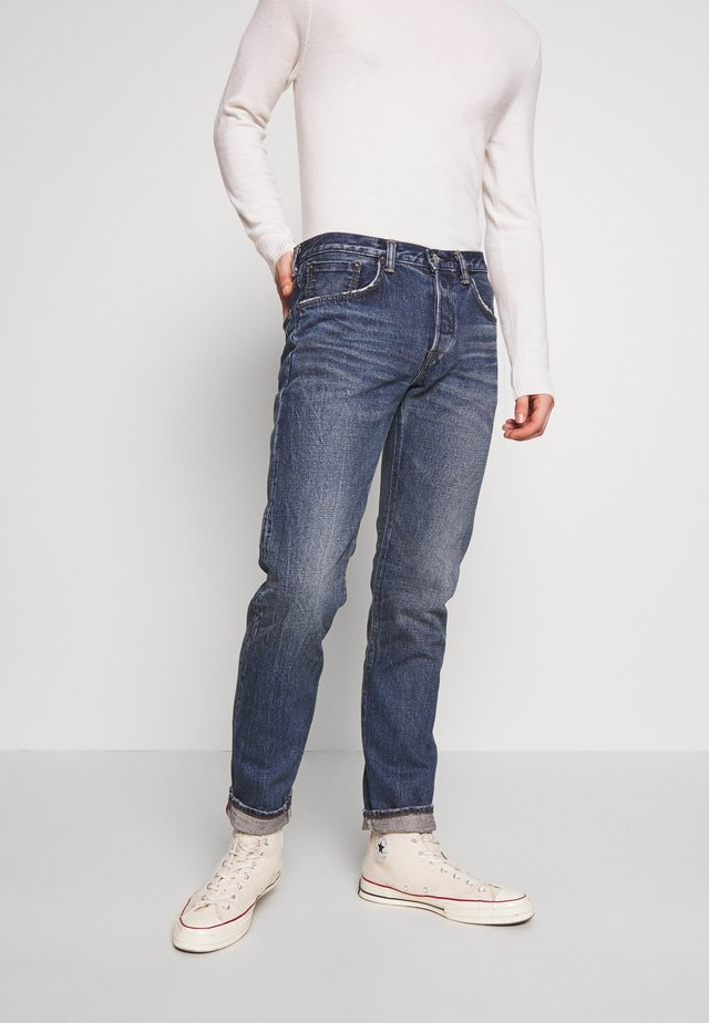 REGULAR TAPERED - Jean droit - blue denim