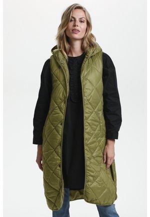 Down coat - Burnt Olive