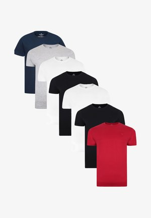 7ER PACK - T-shirt basic - mehrfarbig
