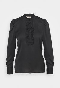 Freequent - DOBBY - Blouse - black - 0