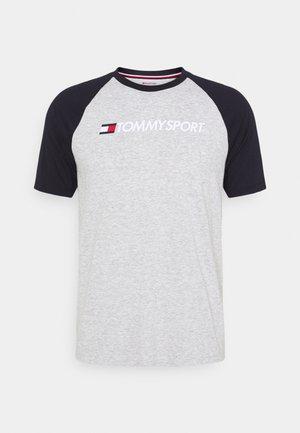 LOGO TEE - T-shirt print - grey