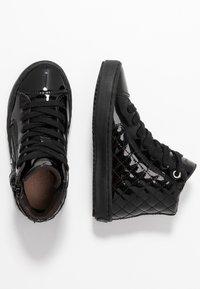 Geox - KALISPERA GIRL - Zapatillas altas - black - 1