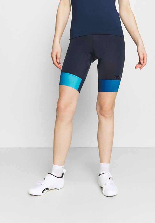 FORCE SHORT WOMENS - Trikoot - orbit blue/scuba blue