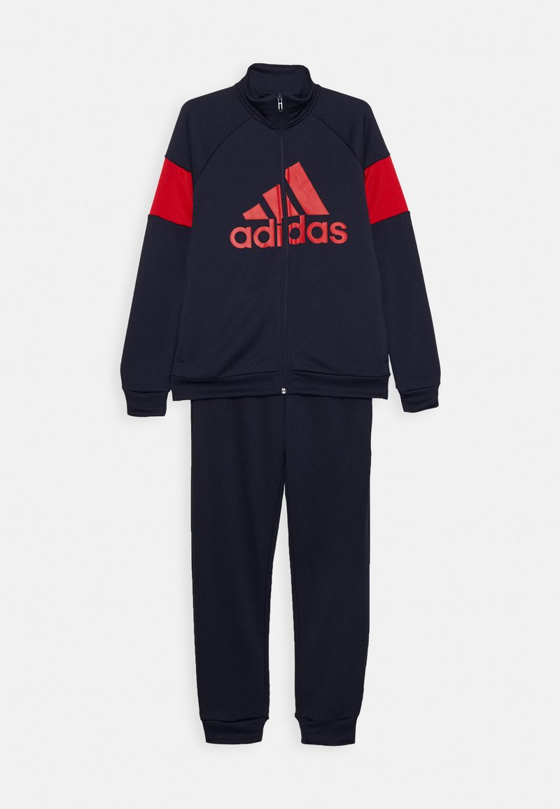 adidas Performance - Tracksuit - dark blue/red