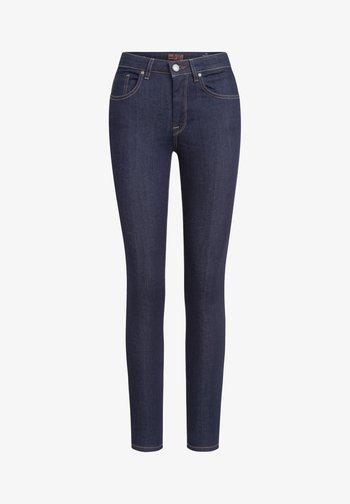 GRACIA - Slim fit jeans - dunkelblau