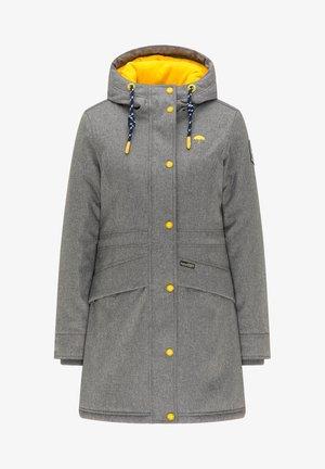 Zimní kabát - dunkelgrau melange