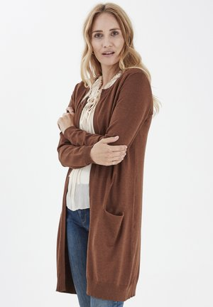 PZSARA  - Cardigan - dark brown