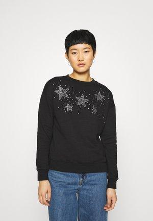 DIAMANTE STAR  - Sweatshirt - black