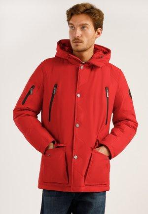 MIT HOCHWERTIGER WATTIERUNG - Winter jacket - red