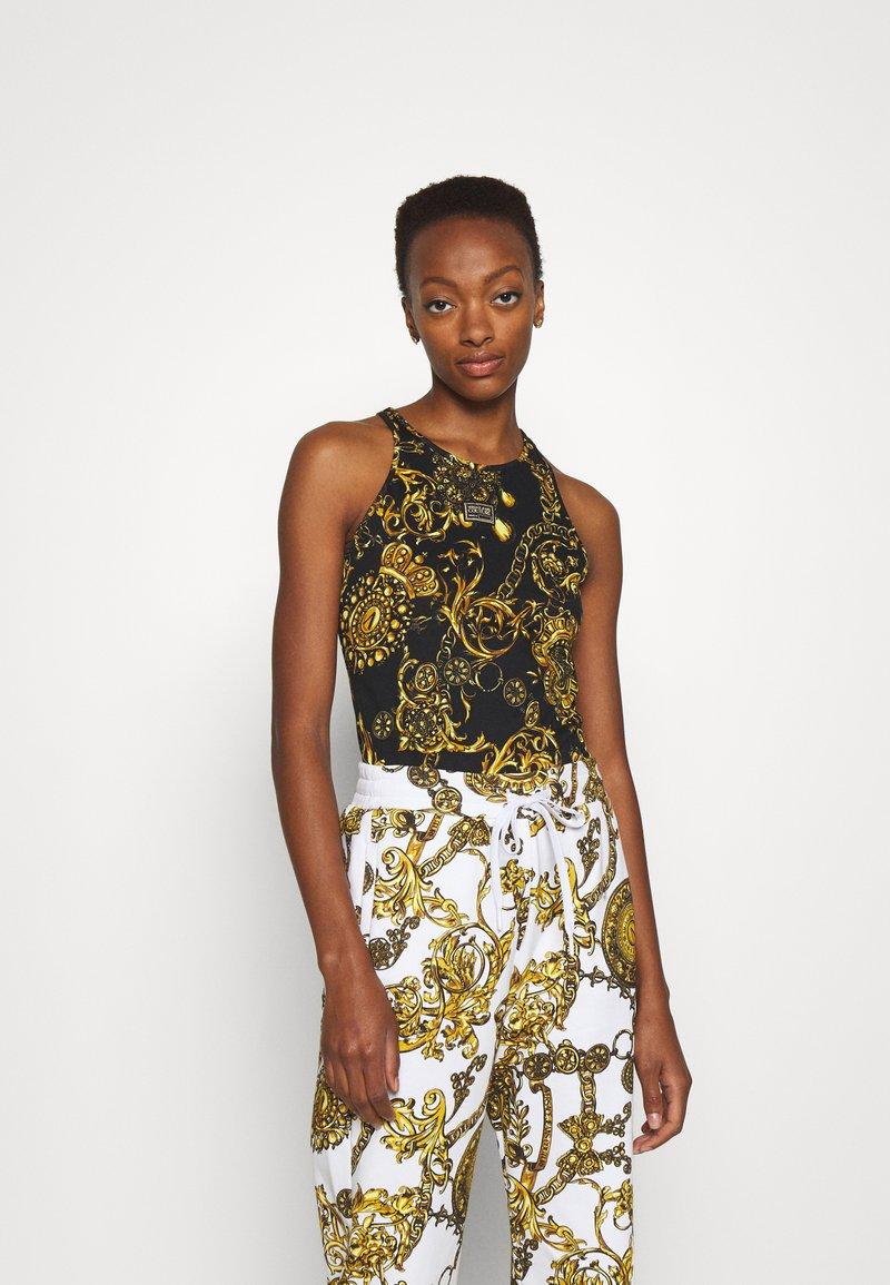 Versace Jeans Couture - Print T-shirt - black/gold