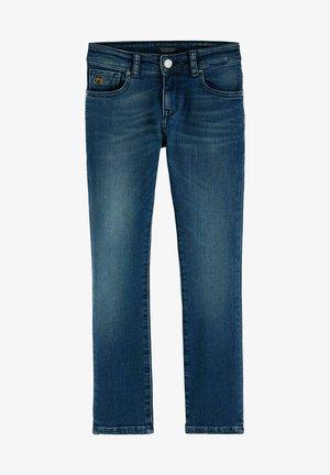Straight leg jeans - green sky repair