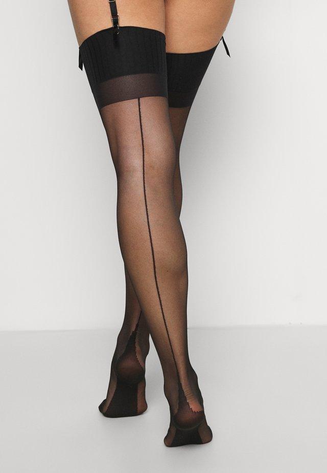 BAGUETTE ARRIERE  - Over-the-knee socks - schwarz