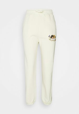 WOODLAND VINTAGE ANGELS PATCH JOGGER HONEY SUCKLE - Tracksuit bottoms - yellow