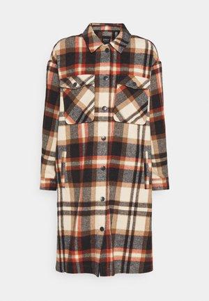 ONLELLENE VALDA LONG CHACKET - Classic coat - blue/red