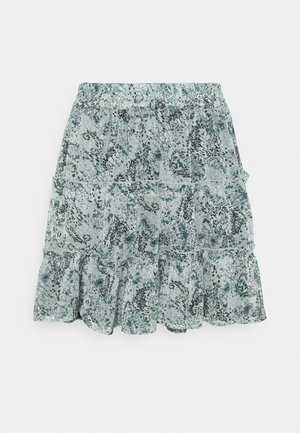 JDYLINDA SHORT SKIRT - Miniskjørt - blue surf