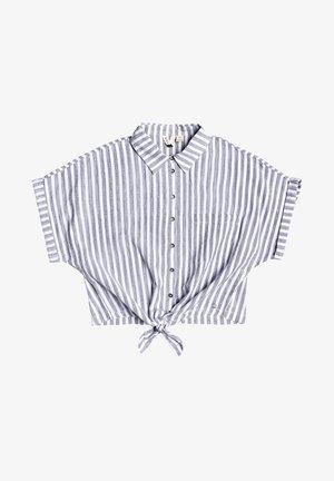 FULL TIME DREAM  - Button-down blouse - mood indigo lagos stripes