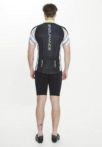 Endurance - RADTRIKOT PARMER M CYCLING - Print T-shirt - black - 3
