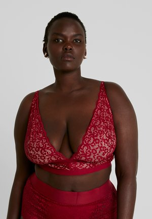 EDEN LONGLINE BRALETTE - Top - biking red