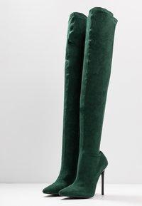 BEBO - MAUREEN - Bottes à talons hauts - green - 4