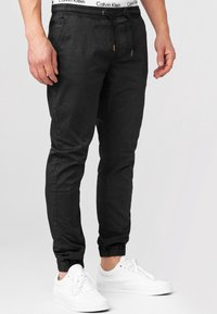 INDICODE JEANS - FIELDS - Trousers - black - 4