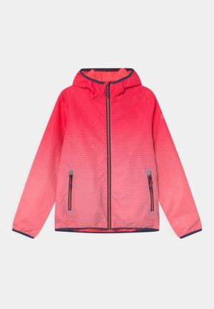 LYSE - Outdoor jacket - neon-coral