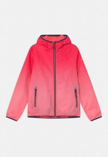 LYSE - Outdoor jacket - neon-coral