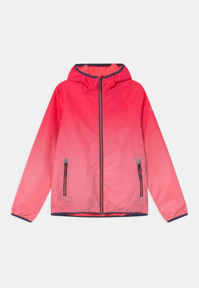 LYSE - Ulkoilutakki - neon-coral