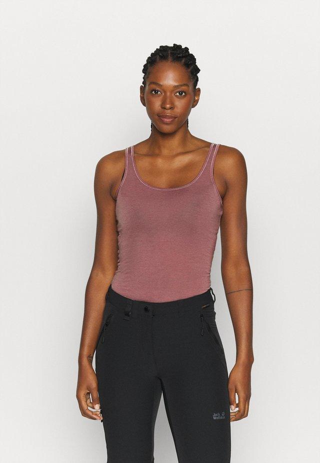SIREN TANK - Unterhemd/-shirt - suede