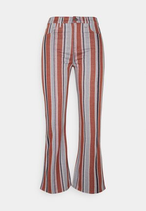 SKINNY KICK CROP - Trousers - multi