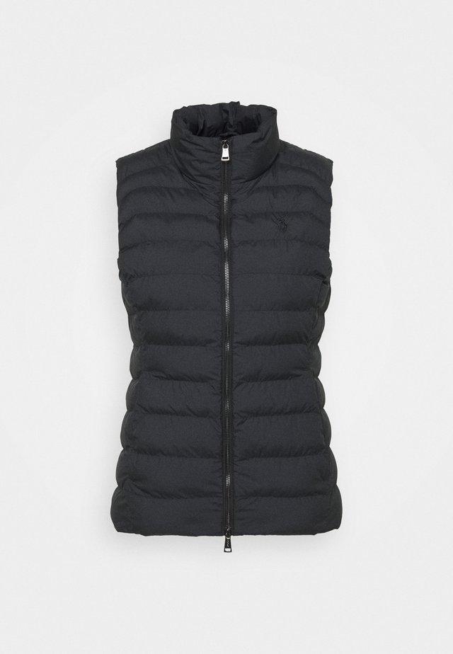 VEST - Waistcoat - polo black