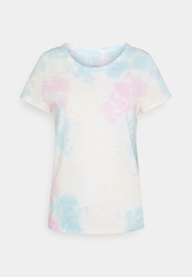 GAP - FOREVERSOFT CREW - Print T-shirt - multi