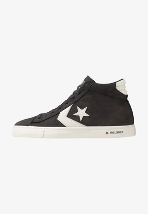 PRO LEATHER - High-top trainers - almost black/egret