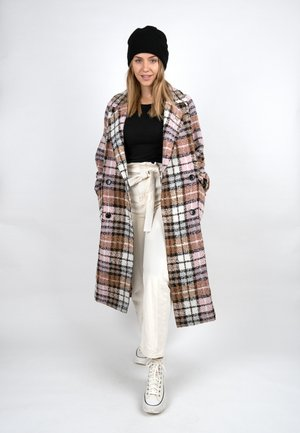 Classic coat - rosewood