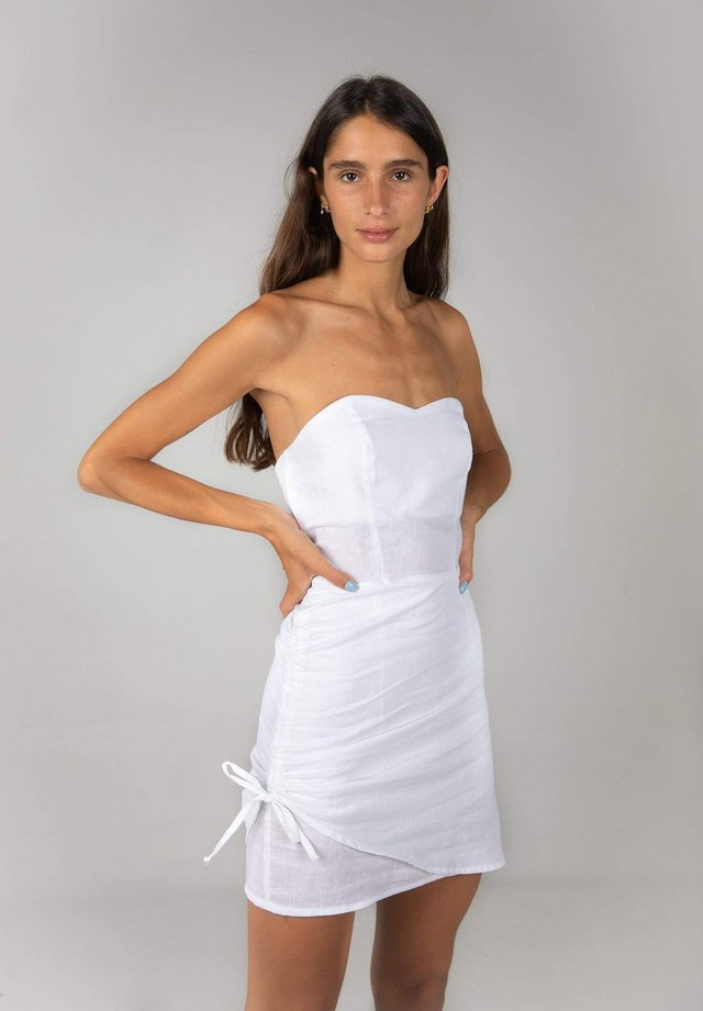 ELLE - Shift dress - white