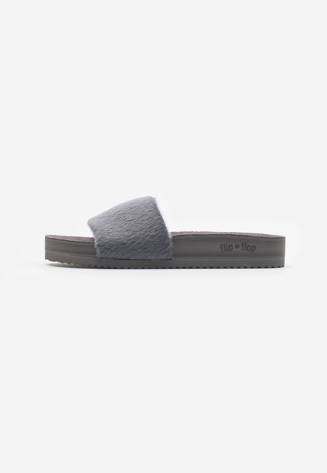 POOL - Pantuflas - dark grey