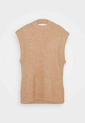 NOR VEST  - Print T-shirt - camel brown