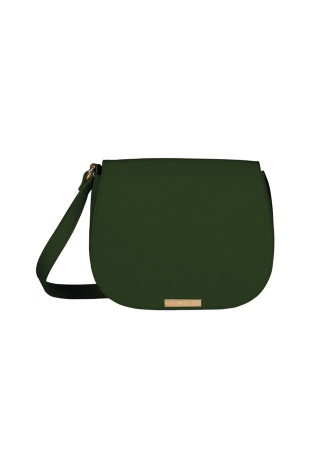 Schoudertas - dunkelgrün