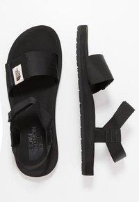 The North Face - M SKEENA SANDAL - Walking sandals - black - 1