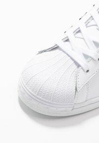 adidas Originals - SUPERSTAR  - Trainers - footwear white/core black - 5