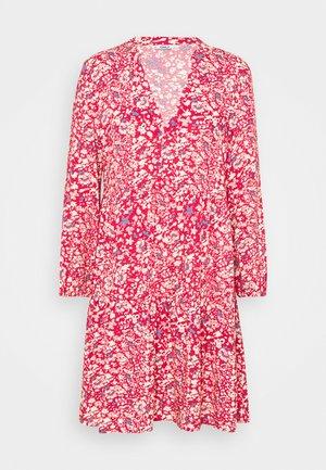 ONLNOVA LIFE THEA DRESS - Korte jurk - mineral red