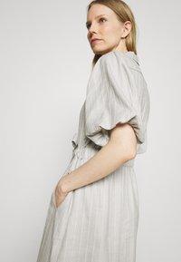 Expresso - DELANY - Shirt dress - steel grey melange - 3