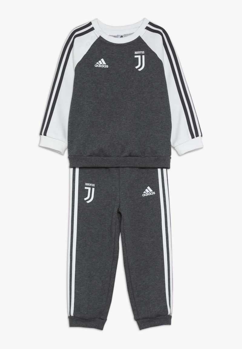 adidas Performance - JUVE - Dres - dark grey heather/cream white