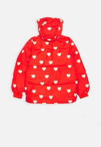 Mini Rodini - HEARTS PICO- PUFFER - Winterjacke - red - 1
