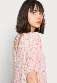 Selected Femme - SLFSINA MIDI DRESS - Day dress - sandshell - 3
