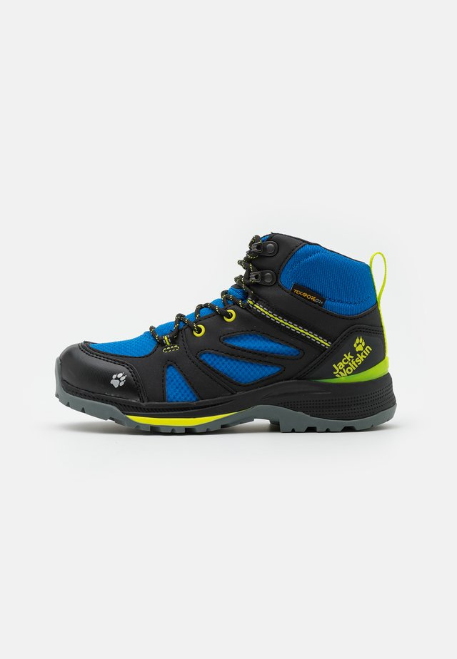 FORCE STRIKER TEXAPORE MID UNISEX - Trekingové boty - black/blue