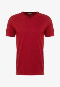 Benetton - Basic T-shirt - red - 4