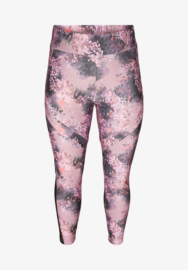 Tights - soft blossom print