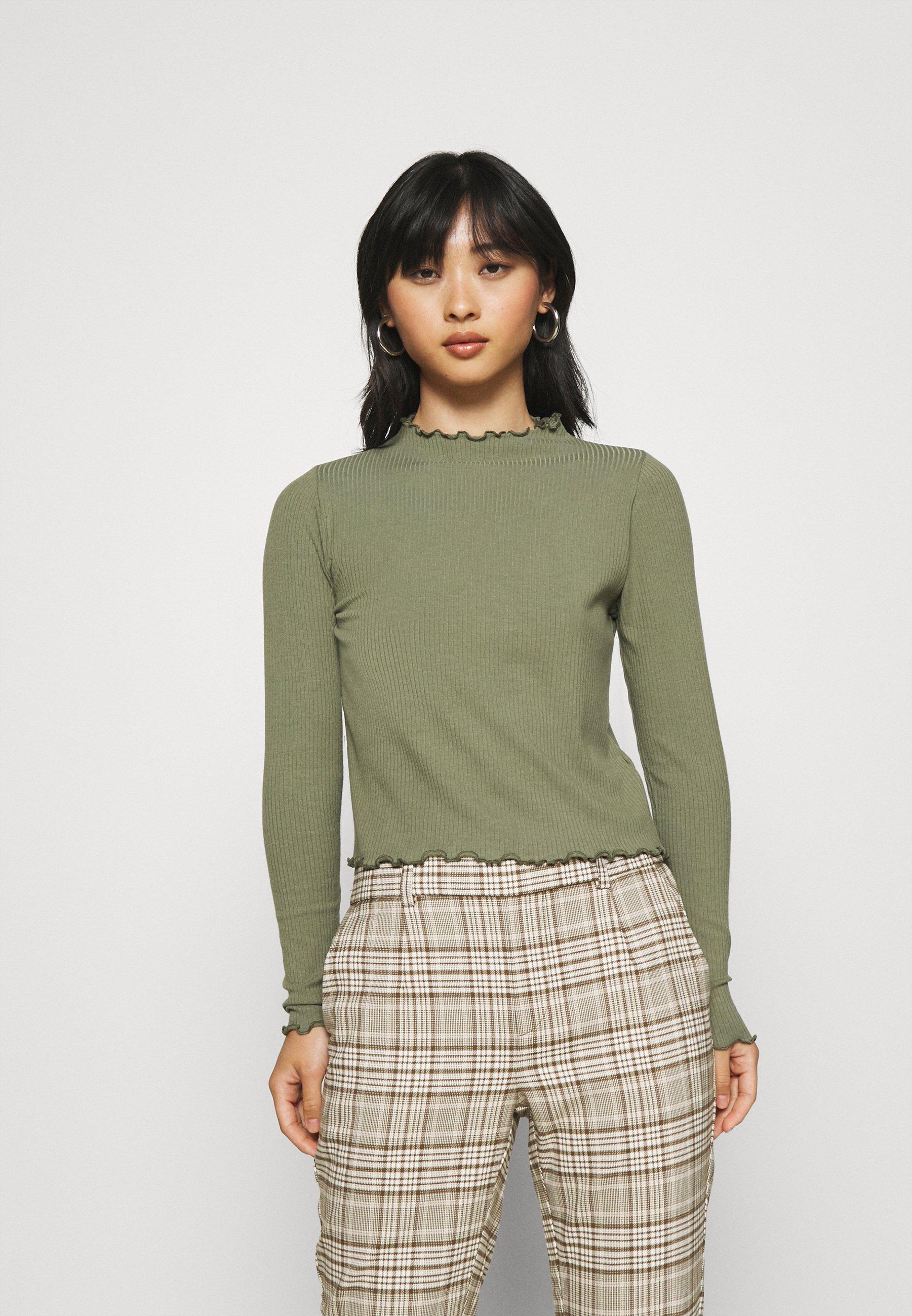 Donna PCNICCA NECK - Maglietta a manica lunga