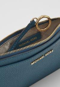 MICHAEL Michael Kors - JET SLIM CARD CASE - Wallet - dark cyan - 4
